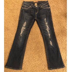 Cello Women's jeans size 9 - cute pockets!